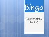 Bingo (Exponents & Square Roots)