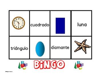 Bingo Figuras Geometricas