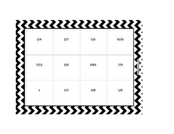 Bingo Fraction Fun