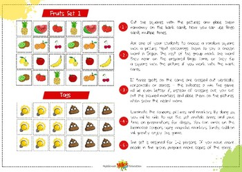 Bingo Fruits All Sets