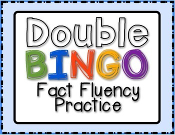 Bingo Fun with Doubles!