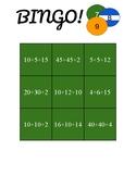 Bingo Game (Adding Three Numbers)