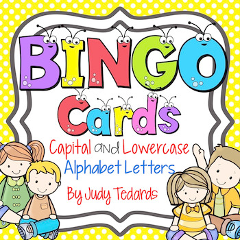 Bingo Game (Capital and Lowercase Letters)