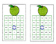 Bingo Game Fun- Sight Words for Grade 2 Glitter Apple Theme