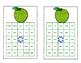 Sight Words for Grade 2- Bingo Game -Glitter Apple Theme