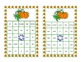 Bingo Game Fun- Sight Words for Grade 2 with a Fall Theme