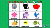 Bingo Game: Los Colores