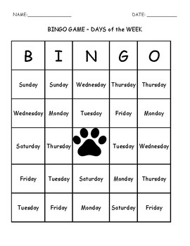 Bingo Game - Super Sam