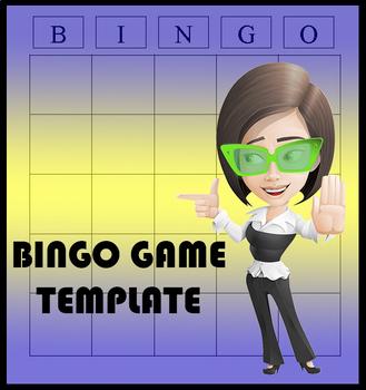 Bingo Game Template