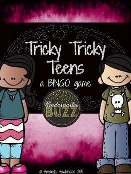 Bingo Game: Tricky Tricky Teens