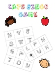 Bingo Game for Practicing the French Alphabet (With Cats!)