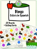 Bingo Game in Spanish Theme: Colors Los Colores