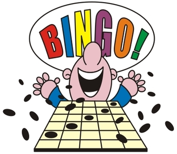 Bingo Game teaches volcabuary words