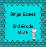 2nd Grade Math, Bingo Games, 12-15 games