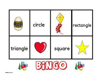 Bingo Geometric Shapes