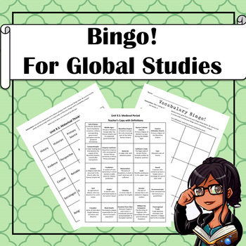 Bingo! Global Studies Mega-Pack