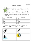 """""""Bingo Goes to School"""" PM Guided Reading Level 9"""