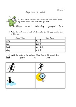 """Bingo Goes to School"" PM Guided Reading Level 9"
