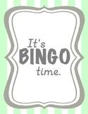 Bingo Homework Boards Bundle (Fall, Thanksgiving, Christma