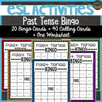 Bingo! Irregular Past Tense Verbs