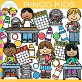 Bingo Kids Clip Art