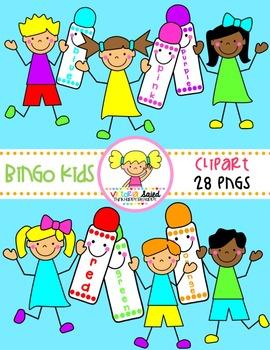 Bingo Kids Clipart