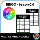 BINGO des sons - Le son CH
