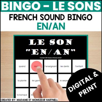 BINGO - Le son EN/AN
