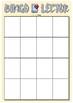Bingo Lector (plantillas en blanco) ESPAÑOL