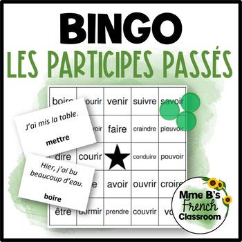 Bingo: Les participes passés irréguliers