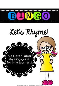 Bingo - Let's Rhyme!
