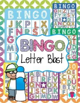 Bingo Letter Blast