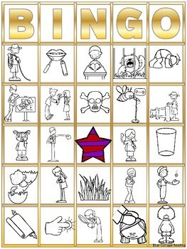 Bingo! for Closed Syllable Review