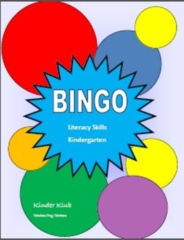 Bingo:  Literacy Skills
