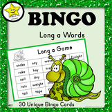 Bingo - Long a Words
