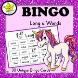Bingo - Long u Words