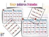 Bingo-Loteria Silabas Trabadas (Grupos Consonánticos)K-2nd