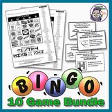 Science Bingo Bundle - 10 Great Games - 30% Savings