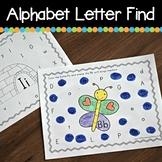 Bingo Marker Alphabet Letter Find (Preschool & Kindergarten)
