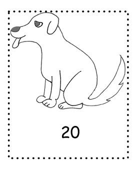 Bingo Marker Dalmatian Counting Book