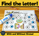 Bingo Marker Find the Letter Activity