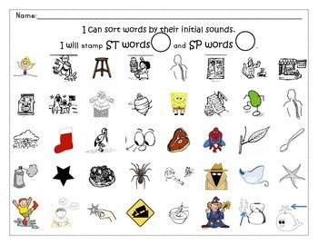Bingo Marker Stamps Sound Centers