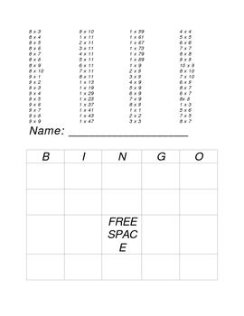 Bingo Math