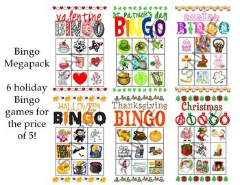 Bingo Megapack Bundle