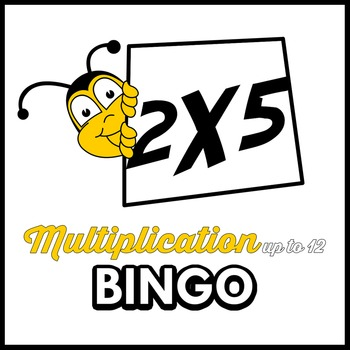The Best Bingo Multiplication Bingo (Multiply up to 12)