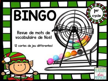 Bingo - Vocabulaire de Noël