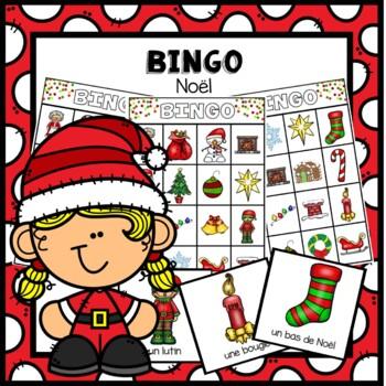 Extremement Bingo Noël by Maternelle de Mme Nicole | Teachers Pay Teachers QK-92