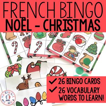 Bingo - Noël (FRENCH Christmas Bingo)