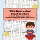 Bingo Numbers to 120 Superheroes
