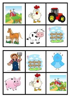 Bingo - On the Farm